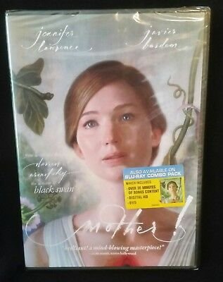 MOTHER Starring Jennifer Lawrence Javier Bardem 2017 Color Widescreen DVD