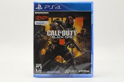 Call of Duty Black Ops 4 Sony PlayStation 4 2018 PS4 PRO BRAND NEW SEALED