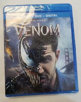 Venom Blu-Ray-DVD-Digital