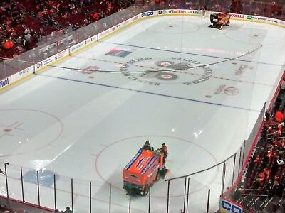 Flyers vs Winnipeg 128 - 2 Aisle Seats - Great View - Section 221 - Row 3