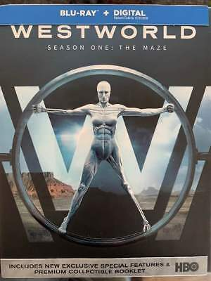 Westworld Season 1 Blu-Ray No DVDDigitalSlip Like New FAST FREE Combine SHIP