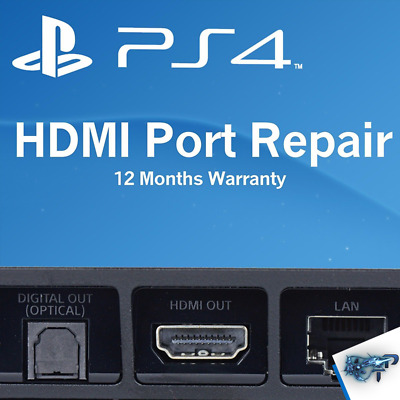 Sony PlayStation 4 PS4 System HDMI Port Repair Service COMPLETE CONSOLE