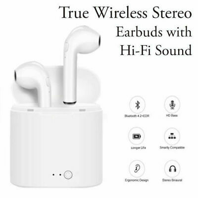 2019 Wireless Earbuds Headphones – Bluetooth – Airpods style for iPhone Samsung