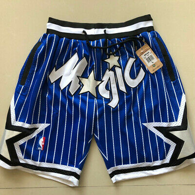 Orlando Magic Vintage Basketball Game Shorts NBA Mens NWT Stitched