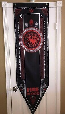 Game of Thrones XL Tournament Banner House Targaryen 5-2 SHIPS IN ONE DAY