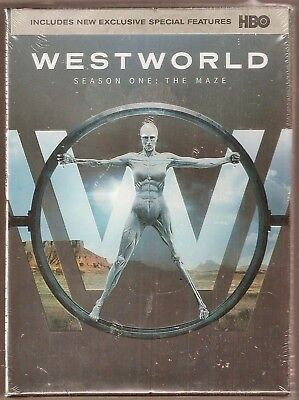 Westworld Season One The Maze DVD TV Shows First BRAND NEW