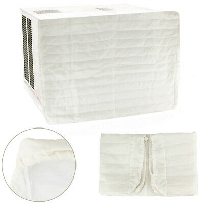 Window Air Conditioner Cover-Indoor-Quilted-Heat Stays In-Cold Air Out 31-5x24