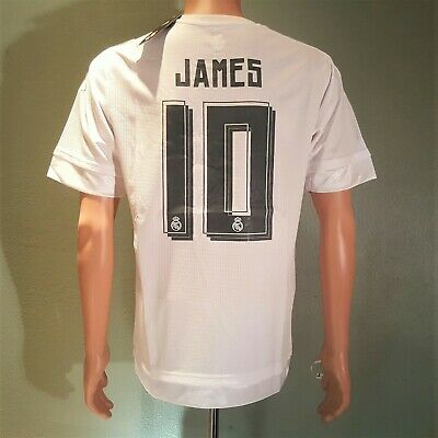 James 10 Real Madrid Home jersey 20152016 White