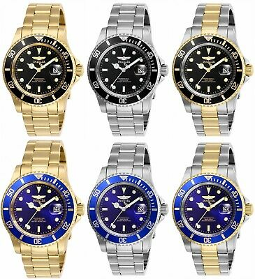 Invicta Mens Pro Diver Stainless Steel 40MM Watch- Choose Color 26970 - 26975