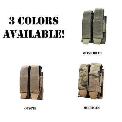 Double Pistol Magazine MOLLE Pouch - CLEARANCE