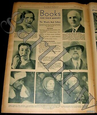 MARGARET MITCHELL 1936 GONE WITH THE WIND PUBLISHED - WIMBLEDON 1936 PICTORIAL