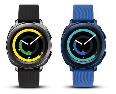 Samsung Gear Sport Bluetooth Smartwatch - Black  Blue