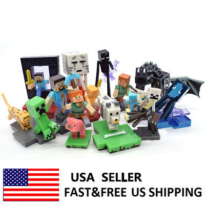 Minecraft Series 4 Chase Piece Ender Dragon Action Figure Doll Toys Gifts 10 PCS
