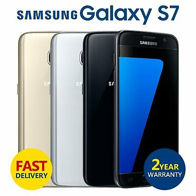 SAMSUNG GALAXY S7 32GB Unlocked SIM Free 4G LTE Android Mobile Phone Grade A-