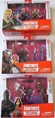 Fortnite Battle Royale Collection Black Knight Triple Threat 2Pack Action Figure