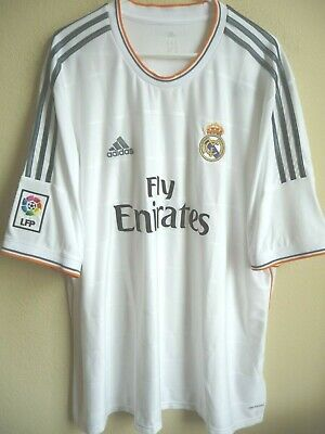 Adidas Real Madrid FC 201314 Home Soccer Jersey 3XL NWT Z29356