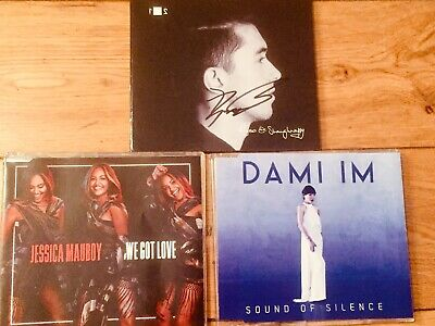 EUROVISION SONG CONTEST-RYAN O'SHAUGHNESSY SIGNED CD-JESSICA MAUBOY-DAMI IM
