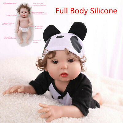 16 Realistic Reborn Baby Doll Full Body Silicone Anatomically Xmas Gifts Dolls