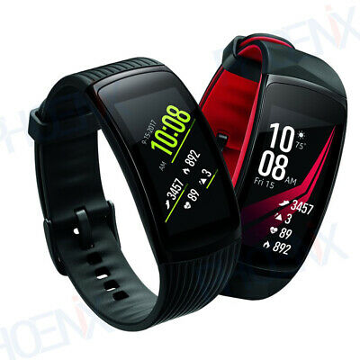 Samsung Gear Fit2 Pro Smartwatch SM-R365 Fitness Tracker- Heart Rate Large