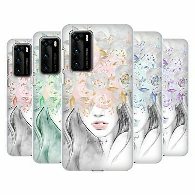 OFFICIAL NATURE MAGICK GIRL WITH FLOWERS IN HER HAIR CASE FOR HUAWEI PHONES 1
