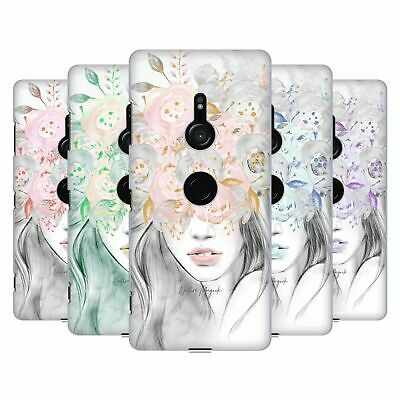 OFFICIAL NATURE MAGICK GIRL WITH FLOWERS IN HER HAIR BACK CASE FOR SONY PHONES 1