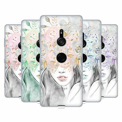 OFFICIAL NATURE MAGICK GIRL WITH FLOWERS IN HER HAIR GEL CASE FOR SONY PHONES 1