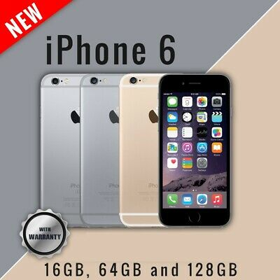 New Apple iPhone 6 4G Smartphone Unlocked 16GB 64GB 128GB Mobile Warranty