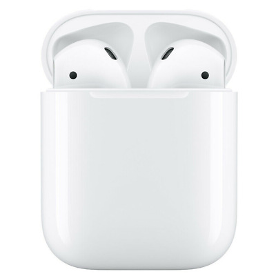 Genuine Apple Airpods White 2nd Generation MV7N2AMA w Wired Charging Case