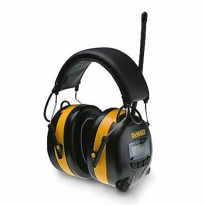 DEWALT Digital AMFM Hearing Protector Earmuffs With Radio Mowing Work Headphone