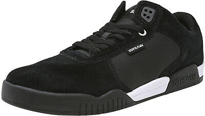 Supra Mens Ellington Ankle-High Suede Skateboarding Shoe