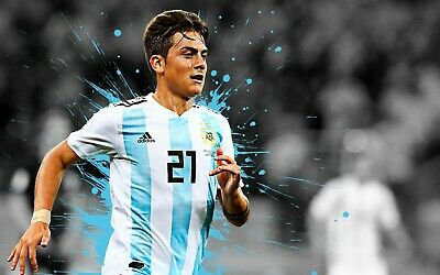 Dybala Jersey Argentina World Cup Copa America New JuventusFAST SHIPPING S-2XL