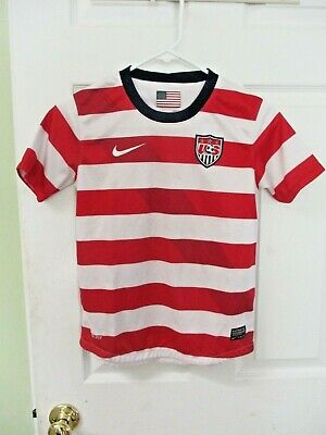 USA America soccer world cup football youth kids child jersey shirt medium 10 12