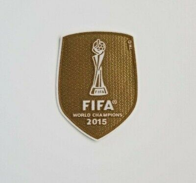 USWNT FIFA 2015 World Cup Champion Soccer Jersey Patch Morgan Lloyd Rapinoe Pres