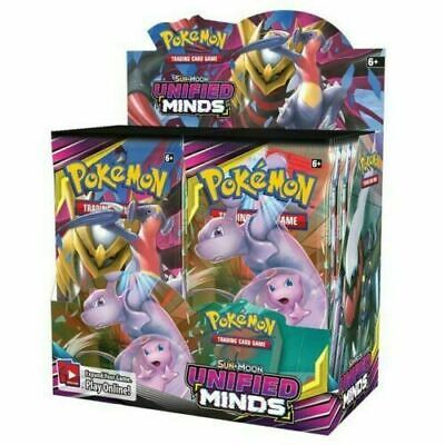 POKEMON TCG SUN - MOON UNIFIED MINDS BOOSTER SEALED BOX - PRE-ORDER
