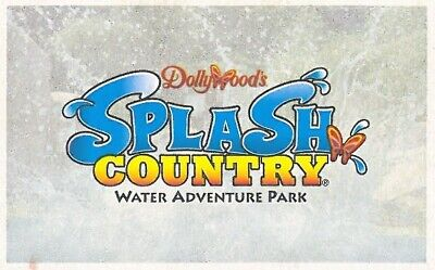 TICKETS DOLLYWOODS SPLASH COUNTRY DOLLYWOOD IN PIGEON FORGE TN GOOD TIL 9219