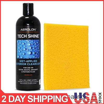 Aerolon - Tech Shine - Fast Wet-Applied Coating - Polymeric Car Wax Protect All