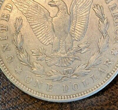 1921-D - The ONLY Denver Minted Morgan Silver Dollar - 90 - Last Year Historic