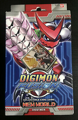 Digimon Fusion CCG New World Shoutmon Starter Deck