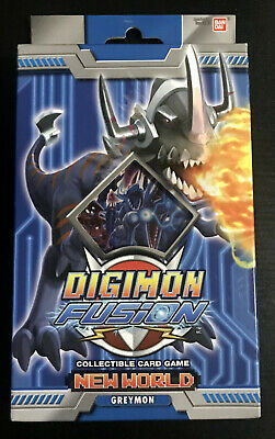 Digimon Fusion CCG New World Greymon Starter Deck
