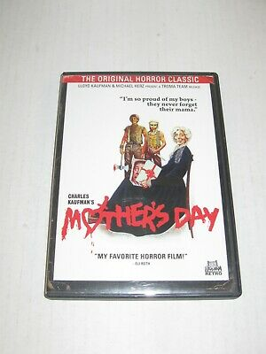 Mothers Day 1980 Kaufman TromaAnchor Bay DVD OOP Rare Used 2012