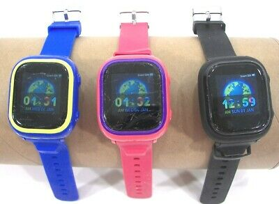 3 TickTalk 2 Childrens Watches and GPS Tracker  Preowned