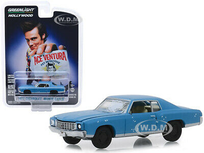 1972 CHEVROLET MONTE CARLO ACE VENTURA PET DETECTIVE 164 GREENLIGHT 44850 F