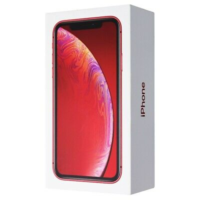 RETAIL BOX - Apple iPhone XR - 64GB  Red - NO DEVICE