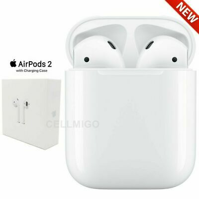 Apple AirPods 2nd Generation 2019 with Charging Case - White US Warranty