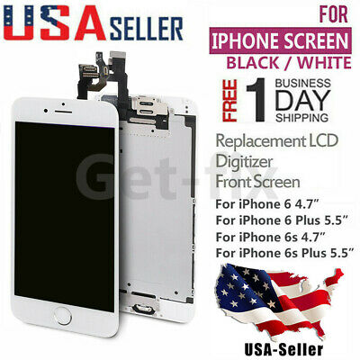 For iPhone 6S 6 Plus LCD Touch Screen Full Replacement Assembly With Home Button