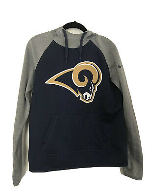 Los Angeles Rams NFL Team Apparel Therma-Fit Hooded Sweatshirt Size Small