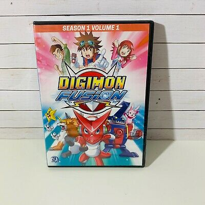 Digimon Fusion DVD Season 1 Volume 1