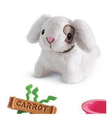 American Girl Carrot Bunny Hutch CARROT The PLUSH BUNNY RABBIT Wellie Wishers