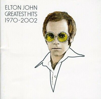 Elton John - Greatest Hits 1970-02 CD New