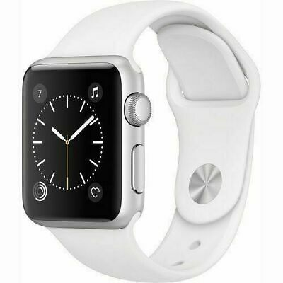 Apple Watch Series 3 42mm GPS - Silver - White Sport Band
